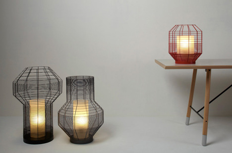 Mesh & Cage Lights by Arik Levy for Forestier | SoFiliumm