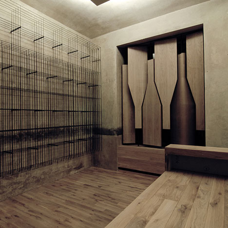 Red Pif Restaurant & Wine Shop by Aulík Fišer Architekti | SoFiliumm