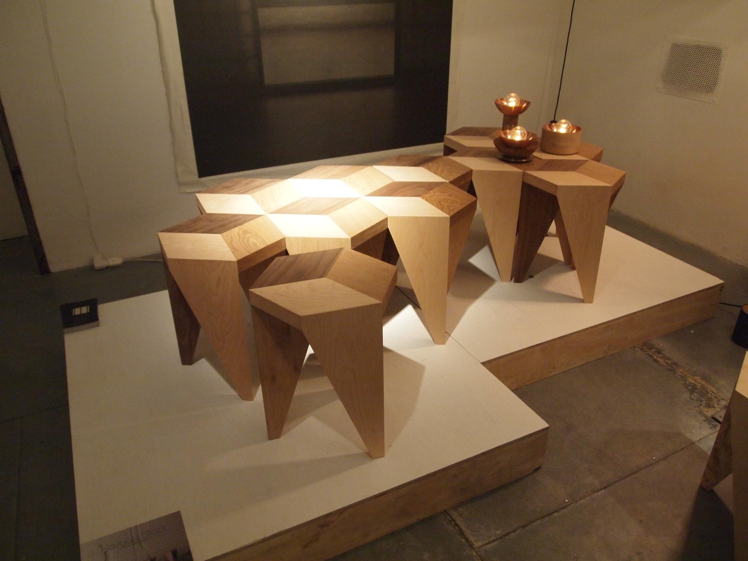 spanish designer alvaro catalan de ocon was showing at spazio