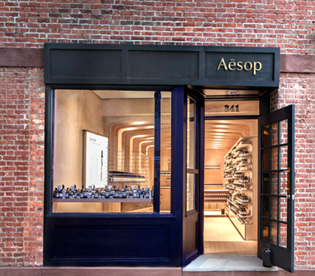 Aesop west village new york sofiliumm for Blueprint store dallas