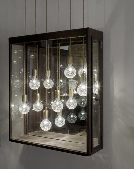 london design week  bulb shop by lee broom
