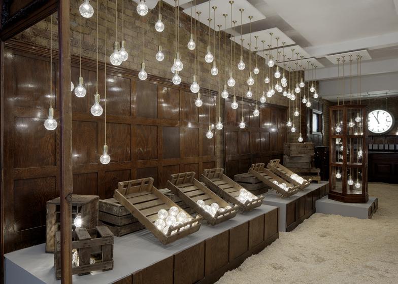 Void Elegant Interior : London Design Week: Bulb Shop by Lee Broom  SoFiliumm