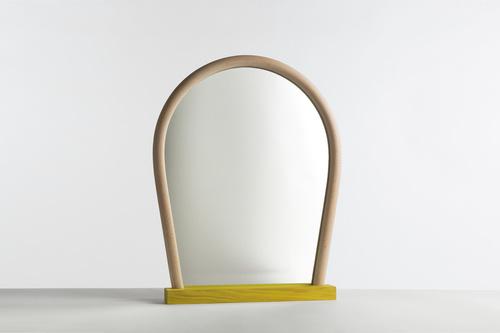 Hay Bent Wood Mirror