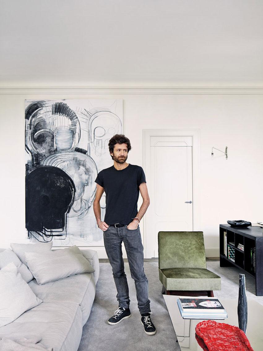 Joseph dirand s private apartment sofiliumm for Designer apartment paris