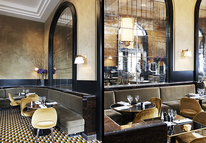 Flandrin by joseph dirand sofiliumm for Restaurant miroir paris